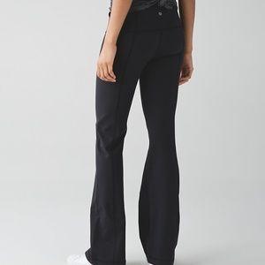 LULULEMON Black Groove III Luon Yoga Pants Legging